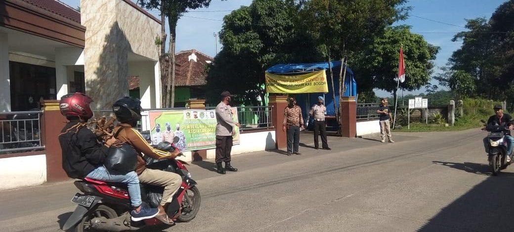 Ops PPKM Wilayah Kecamatan Rancabungur