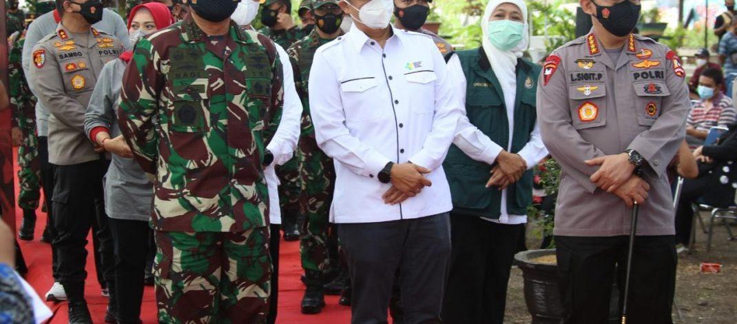 Tinjau PPKM di Madiun, Kapolri Minta Manajemen Pengendalian Covid Tercatat Dengan Baik