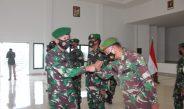 Danrem Pimpin Korp Raport Pindah Satuan Perwira Korem 045/Gaya