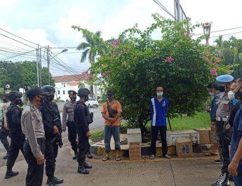 Sat Brimob Polda Jabar Lakukan Patroli Kamtibmas Ke Wilayah Pelabuhan Kejawanan